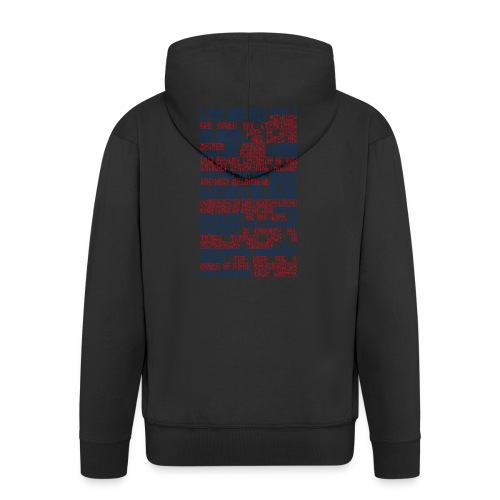 Capital Love - Men's Premium Hooded Jacket