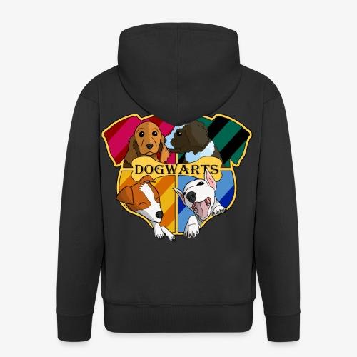 Dogwarts Logo - Men's Premium Hooded Jacket