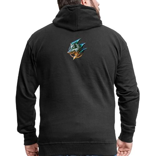 AZ GAMING WOLF - Men's Premium Hooded Jacket