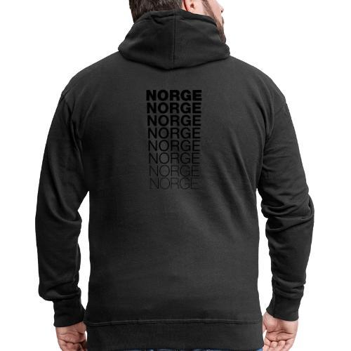 Norge Norge Norge Norge Norge Norge - Premium Hettejakke for menn