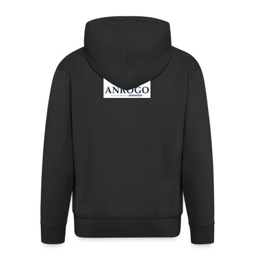 ANROGO - Chaqueta con capucha premium hombre