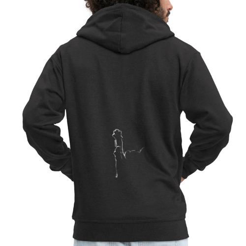 Pussy - Men's Premium Hooded Jacket