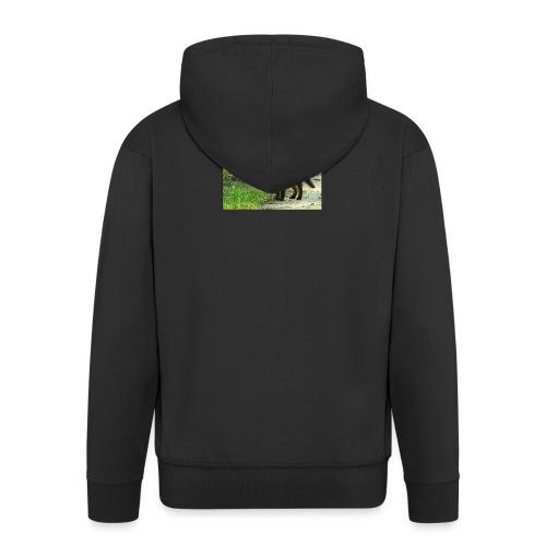 vossen shirt kind - Mannenjack Premium met capuchon