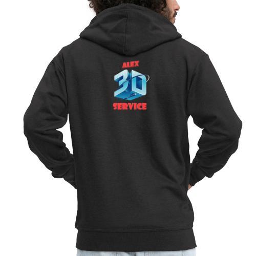 logo emporesa de impresion 3d en albacete - Chaqueta con capucha premium hombre