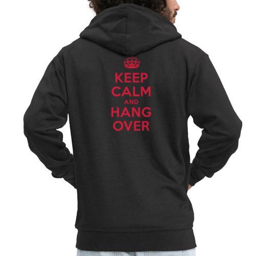 keep calm and hang over - Männer Premium Kapuzenjacke