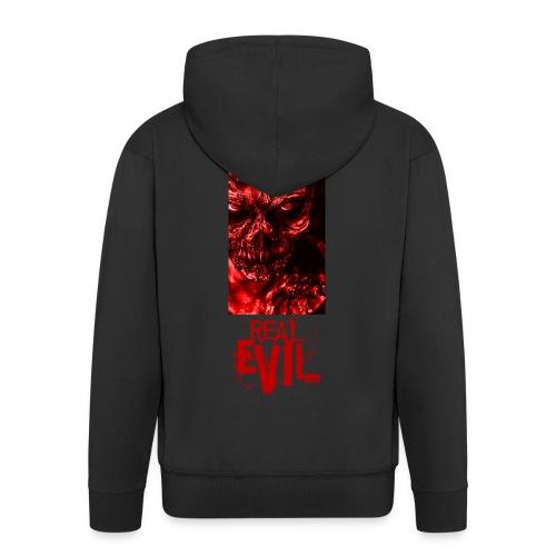 real evil - Männer Premium Kapuzenjacke