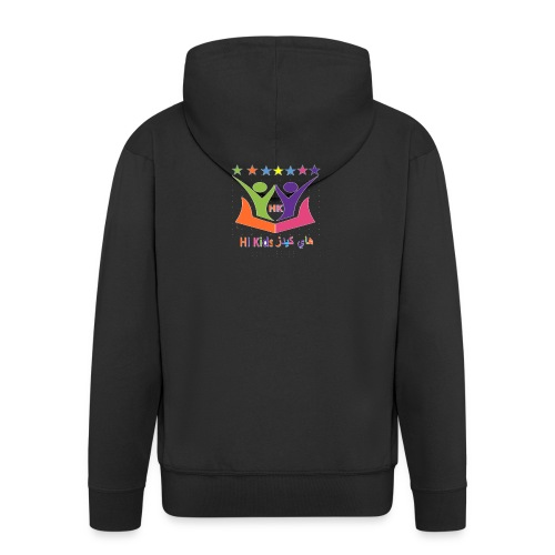 HI KIDS - Men's Premium Hooded Jacket