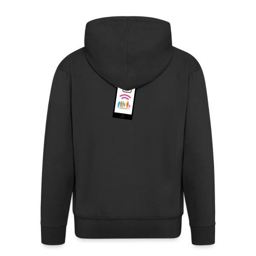 Premium t-shirt, tonåring, sociala medier - Premium-Luvjacka herr