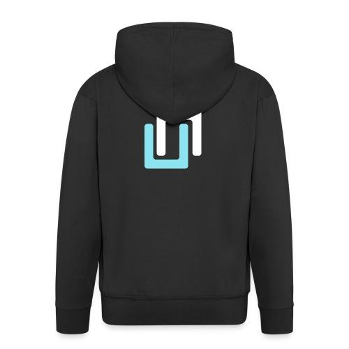 Neon Classic - Men's Premium Hooded Jacket