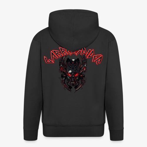 Gabberspider skull - Men's Premium Hooded Jacket