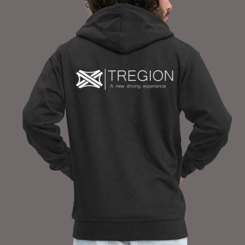Tregion Logo wide - Men's Premium Hooded Jacket