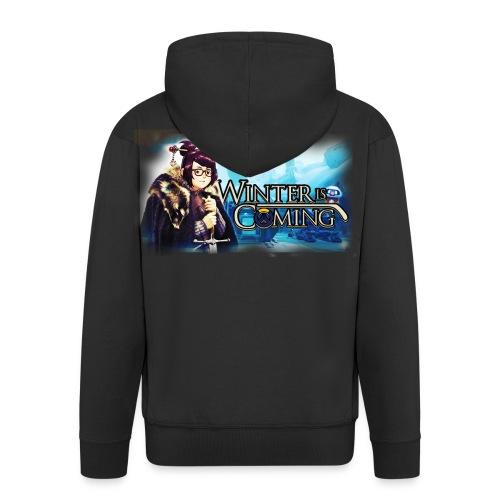 Overwatch and GameOfThrones Fusion - Men's Premium Hooded Jacket