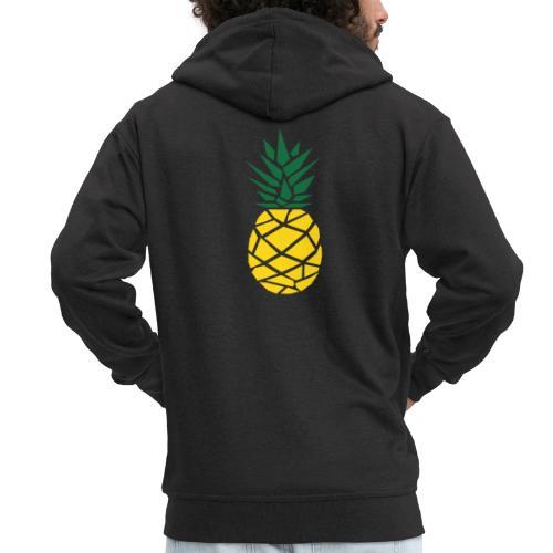Pineapple - Mannenjack Premium met capuchon