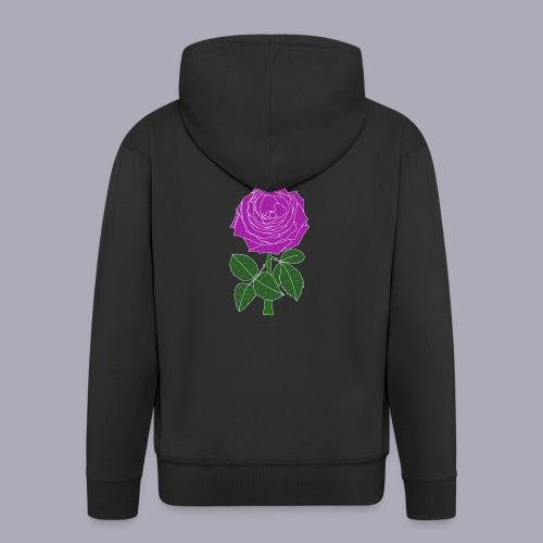 Landryn Design - Pink rose - Men's Premium Hooded Jacket