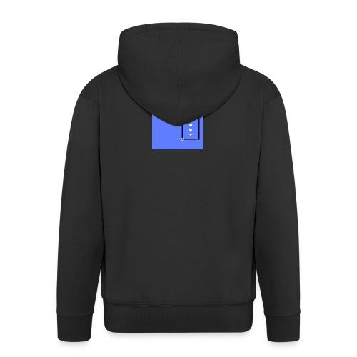 BLECRET - Blue - Men's Premium Hooded Jacket
