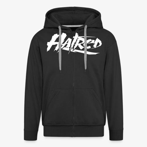 Hatred Shirt (Herren) Logo - Männer Premium Kapuzenjacke