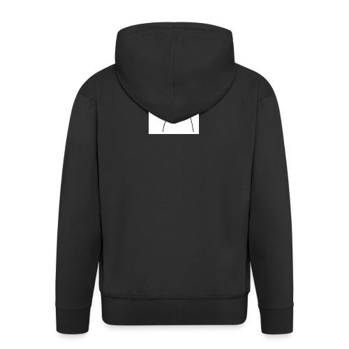 lady t-shirt stick man - Herre premium hættejakke