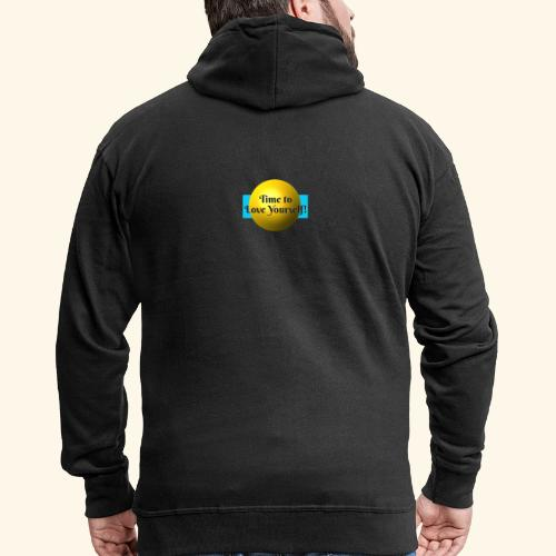 Time to Love Yourself - Männer Premium Kapuzenjacke