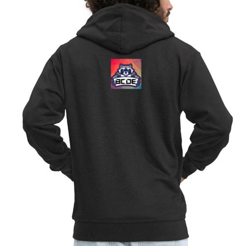 bcde_logo - Männer Premium Kapuzenjacke