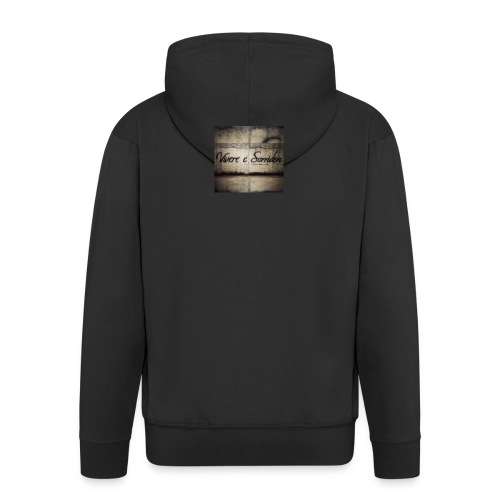 FB_IMG_1450317456468-jpg - Felpa con zip Premium da uomo