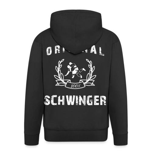 Original 100% Schwinger! - Männer Premium Kapuzenjacke