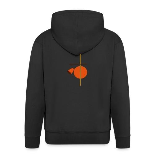 berimbau caxixi - Men's Premium Hooded Jacket
