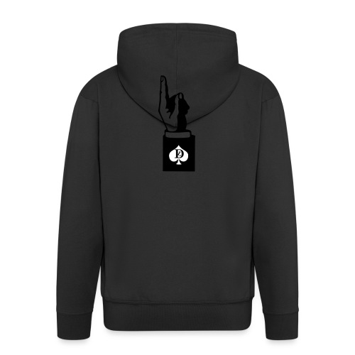 I phone 5 / 5s Cover DEL LUOGO - Men's Premium Hooded Jacket