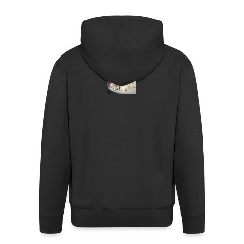pianki - Rozpinana bluza męska z kapturem Premium