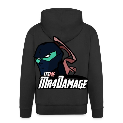 ItsMeMr4Damage - Mannenjack Premium met capuchon