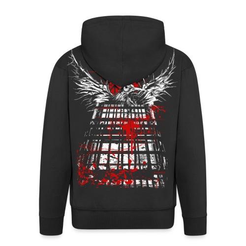 RAVEN | FREEDOM - Männer Premium Kapuzenjacke