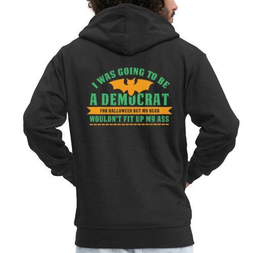 Ich wollte ein Demokrat zu Halloween sein - Männer Premium Kapuzenjacke