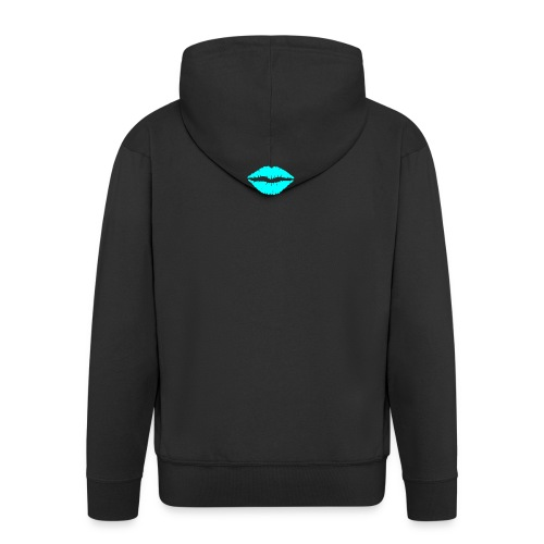 Blue kiss - Men's Premium Hooded Jacket