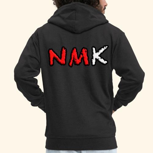 NMK - Felpa con zip Premium da uomo