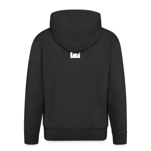 on the dabbing grind - Men's Premium Hooded Jacket