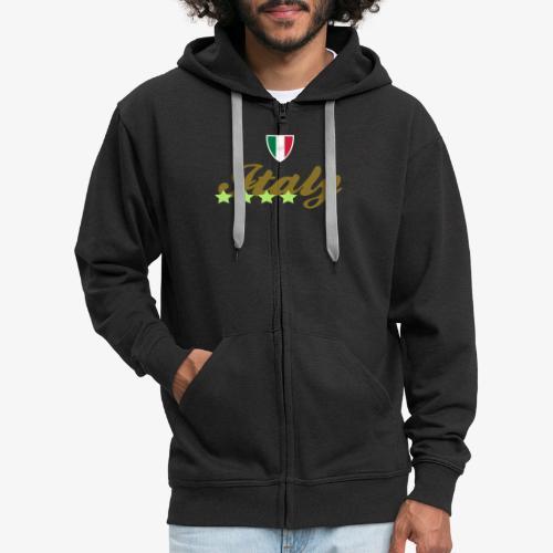 Gruppo di stelle Italia - Felpa con zip Premium da uomo