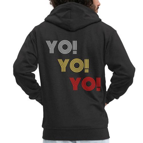 YO! - Männer Premium Kapuzenjacke