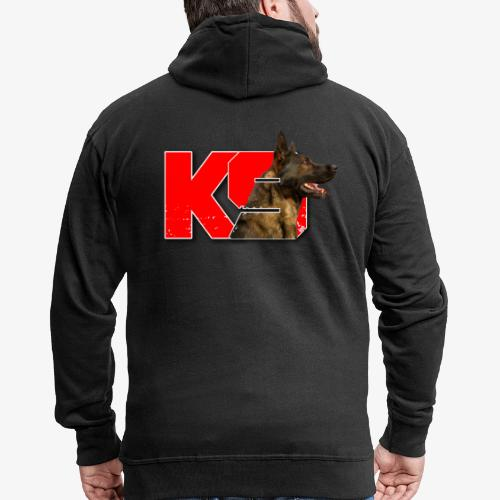 malinois k-9 - Veste à capuche Premium Homme