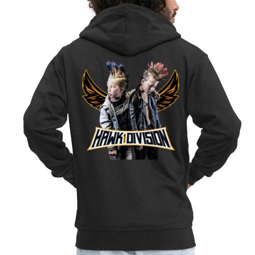 Hawk Division - Men's Premium Hooded Jacket