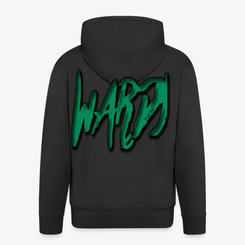 Halloween Design 2 Wardy - Men's Premium Hooded Jacket