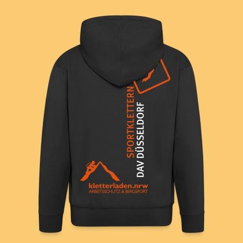 Logo mit Subline_kletterl - Männer Premium Kapuzenjacke