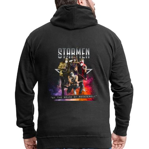Starmen - By The Grace Of Rock'n'Roll - Men's Premium Hooded Jacket