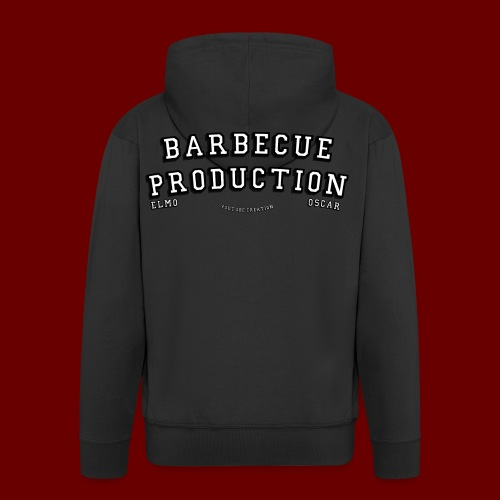 ELMO- BARBECUEPRODUCTION YOUTUBE CRETION - Veste à capuche Premium Homme