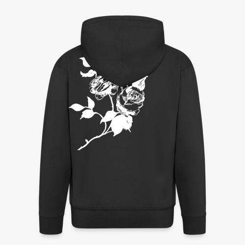 roses home made - Men's Premium Hooded Jacket