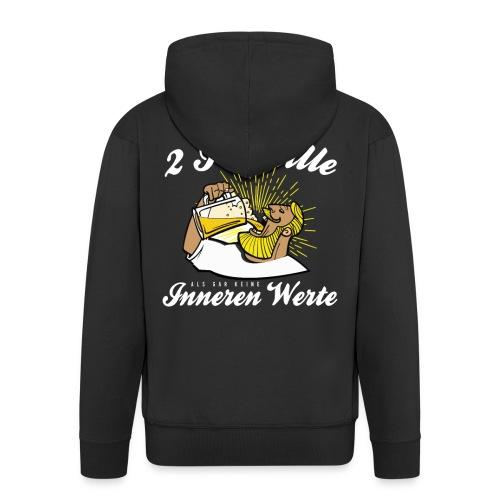 Lustiger Spruch - Lieber 2 Promille - Männer Premium Kapuzenjacke
