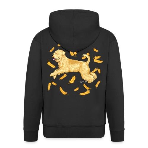 Wheat Wheaten Terrier 2 - Men's Premium Hooded Jacket