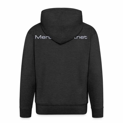 Mersforum.net classic - Miesten premium vetoketjullinen huppari