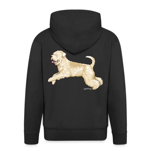 Soft Coated wheaten Terrier - Men's Premium Hooded Jacket