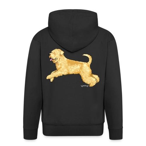 Wheaten Terrier 2 - Men's Premium Hooded Jacket