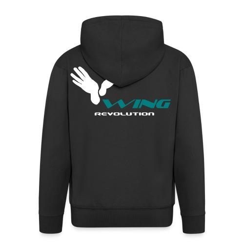 TWR_Logotipo_Wing Revolut - Männer Premium Kapuzenjacke