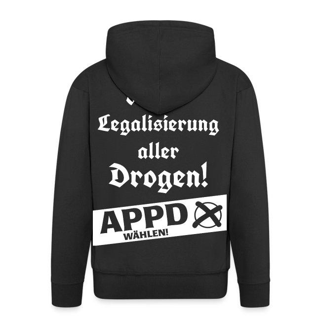 Legalisierung aller Drogen! APPD wählen!